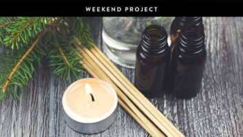 Weekend Project: Make Your Own  Essential Oil Candle
