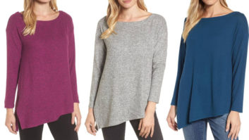 If You Hate Being Cold, You Need This Flattering Fleece Top From Nordstrom In Your Life (Bonus: It's On Sale!)