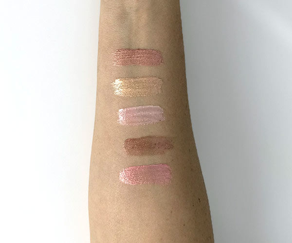 huda beauty lip strobe swatches