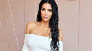 Um, Did Kim Kardashian Not Realize Her Outfit Was Completely See-Through?