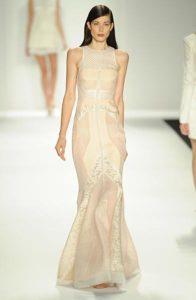 J. Mendel gown