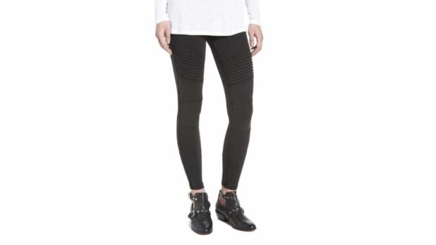 These Bestselling Moto Leggings Are Back At Nordstrom--Grab A Pair Before They Sell Out Again!
