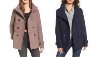 Nordstrom's Crazy Popular Peacoat Is Only $30 And Back In Stock In Two New Colors