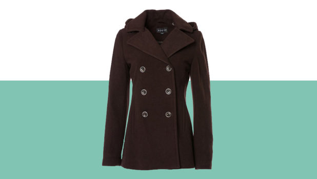 This $39 Peacoat Is Selling Fast--Order Yours Before They're All Gone!