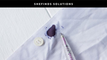 Once And For All, Here's How To Remove A Pen Ink Stain #SHEfindsSolutions