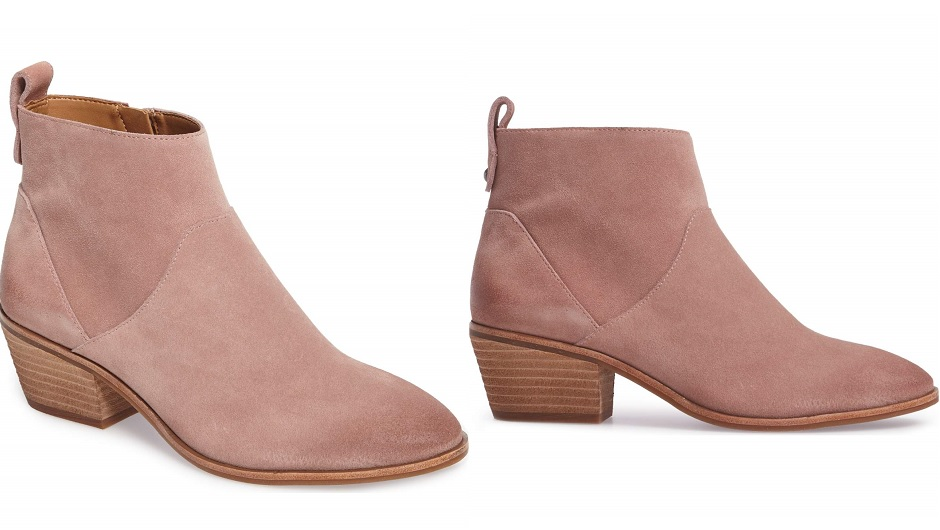 a63a7a1cd Feast your eyes on these perfect millennial pink booties by Sole Society: