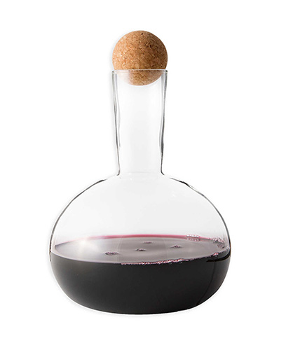 Rabbit® Mako Glass Wine Decanter