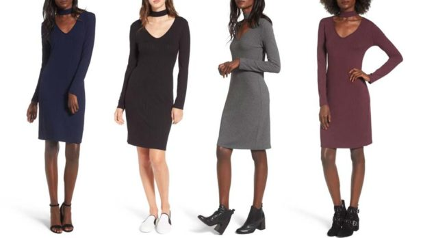 You Won't Believe How Much This Cute Choker Dress Is On Sale For At Nordstrom Right Now
