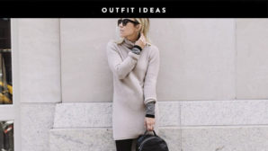 Not Sure How To Style A Sweater Dress? These Outfit Ideas Will Help