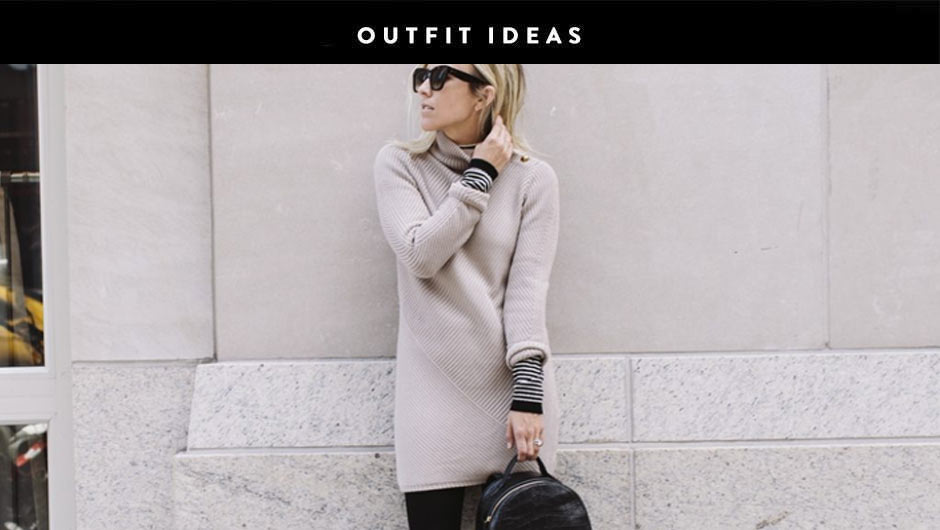 84ae0efe97 Shop · Not Sure How To Style A Sweater Dress  These Outfit Ideas Will Help