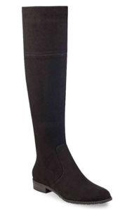 suede boots wide calf