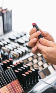 makeup tester
