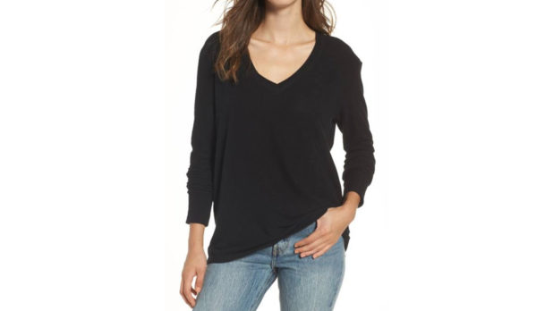 Nordstrom Has The Perfect V-Neck Sweater On Sale For Just $25 Right Now