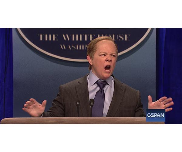 Melissa McCartney as Sean Spicer
