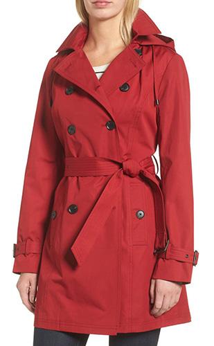 Belted Parka Jacket