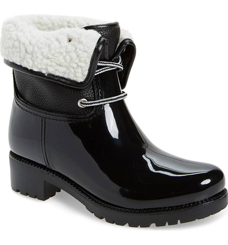 Calgary Faux Shearling Water Resistant Boot