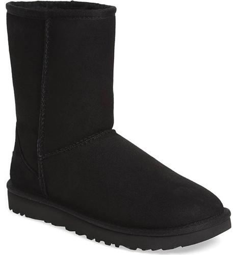 Classic II Genuine Shearling Lined Short Boot