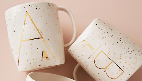 Psst! Get A Monogrammed Anthropologie Mug For Just $4 Right Now