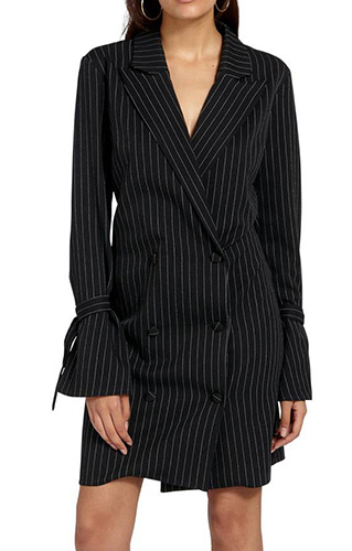 Double Breasted Suit Dress