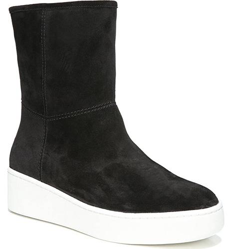 Elona Genuine Shearling Lined Sneaker Boot