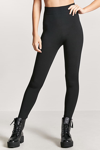 Fleece High-Waist Leggings