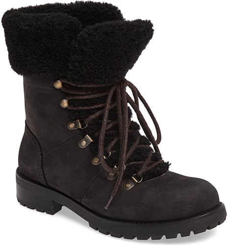Fraser Genuine Shearling Water Resistant Boot