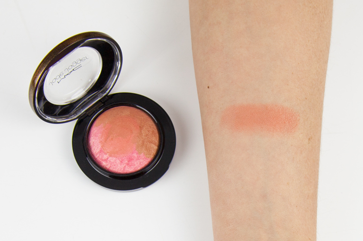 mac jade jagger mineralize blush perfect bronze swatches