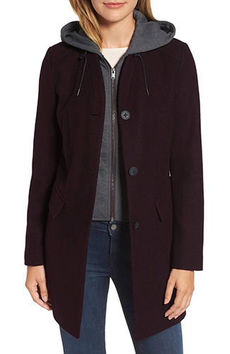 Roxanne Wool 2-in-1 Car Coat