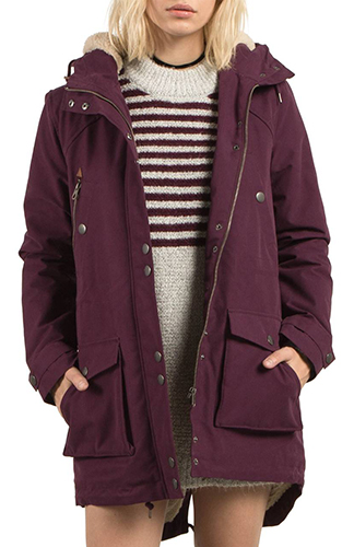 Walk On By Hooded Parka