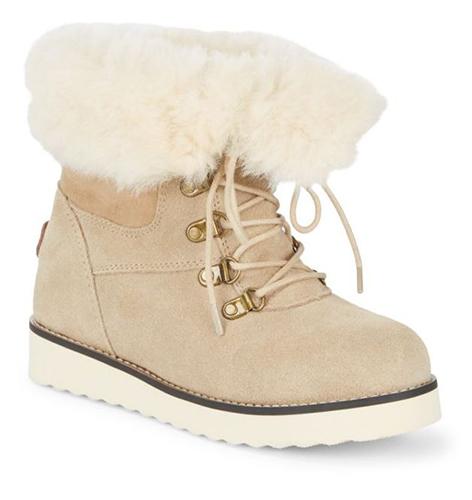 Collective Yael Shearling Boots