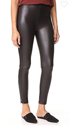 Zippered Fleece Lined Liquid Leggings