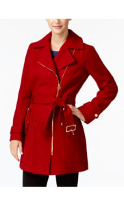 michael kors coat macy's