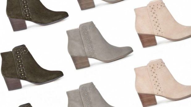 Psst! You Need To Shop These Cute Suede $39 Booties From Sole Society ASAP