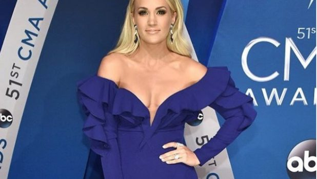 What Is Carrie Underwood Wearing? She's Practically Naked!