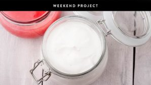 Weekend Project: Make Your Own Hydrating Body Lotion