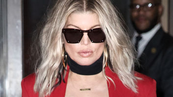 Um, Did Fergie Really Not Know That Her Outfit Was Completely See-Thru?