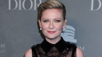 Um, Did Kirsten Dunst Not Realize Her Dress Was Completely See-Through?