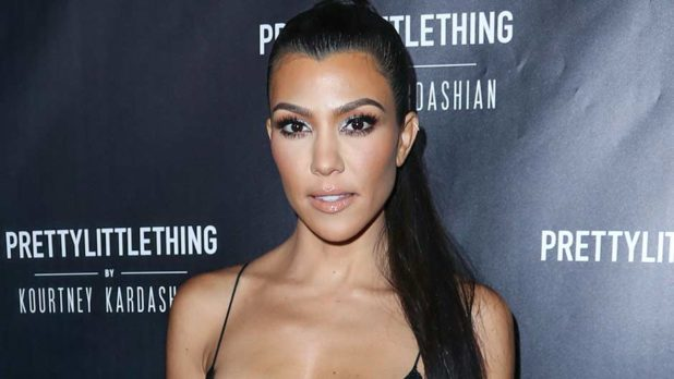 Did Kourtney Kardashian Really Not Realize That Her Bra Was Showing Through Her Shirt?
