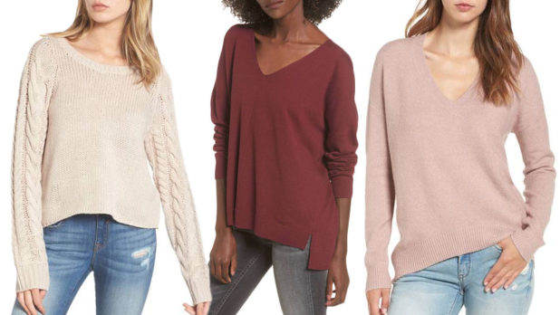 Nordstrom Has So Many Warm & Flattering Sweaters On Sale For $35 Or Less Right Now--Stock Up!