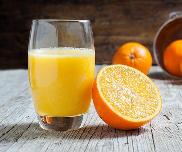 oranges clear skin