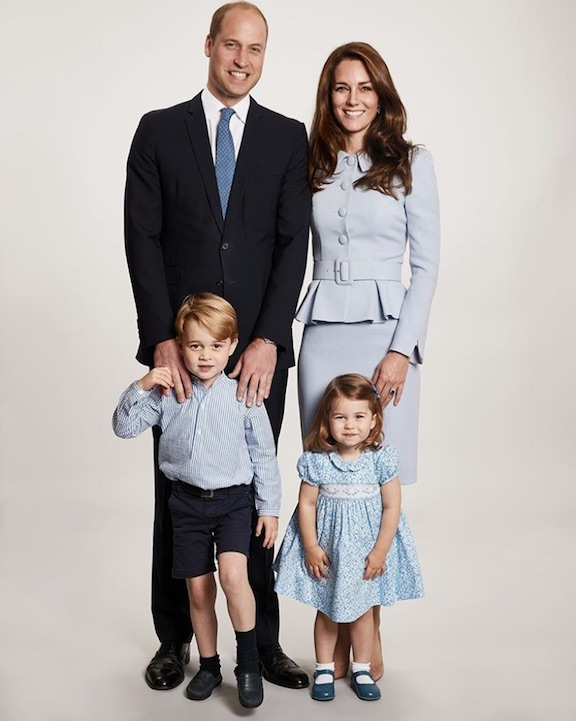 royal family christmas card