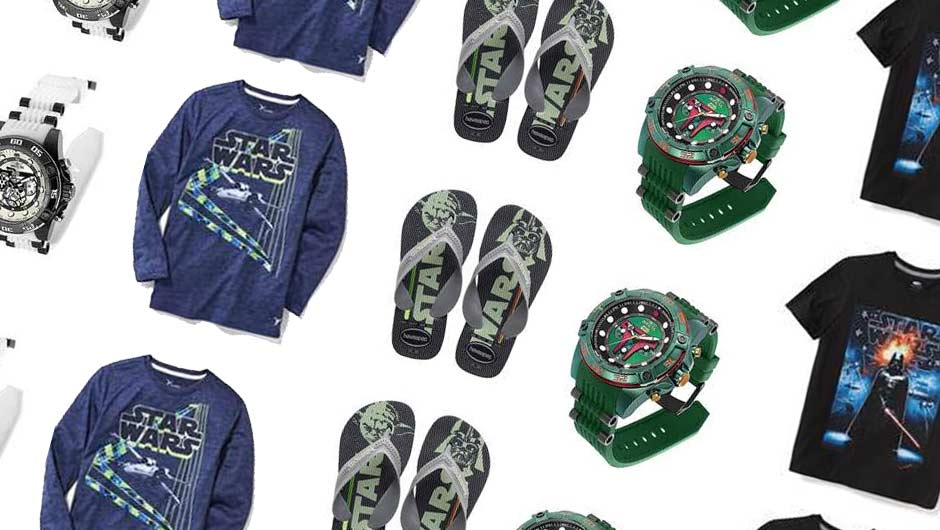 "952949c8e98 December 2017  To celebrate the upcoming release of ""Star Wars  The Last  Jedi,"" brands like Old Navy, Evine and Havaianas have released  limited-edition gear ..."