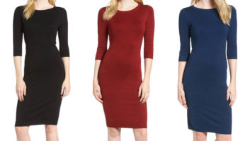You <em>Need</em> This Flattering $38 Sweater Dress In Your Winter Wardrobe