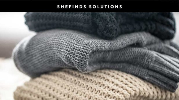 Once And For All, Here's How To Prevent Sweaters From Pilling #SheFinds Solutions