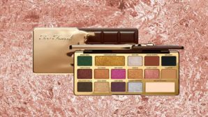 We've Got Swatches Of Too Faced's New Chocolate Gold Eye Shadow Palette & They're Incredible!