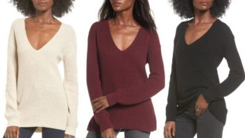 Nordstrom Shoppers Love This Warm And Flattering $29 V-Neck Sweater