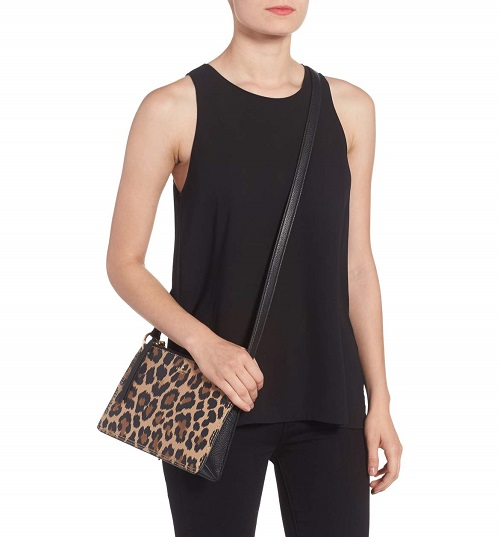 kate spade leopard print crossbody bag