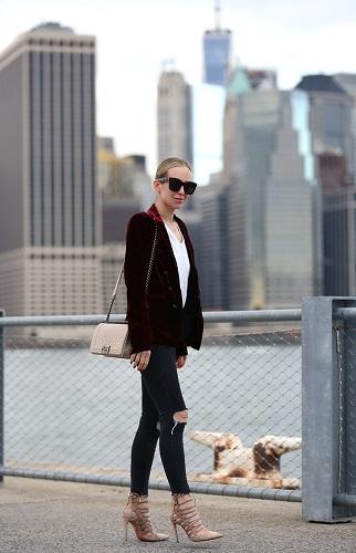 velvet outfit ideas