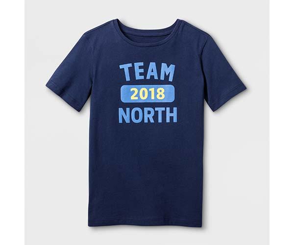 32f37af19db Askov Finlayson for Target Kids  Team North T-Shirt - Navy ( 14)