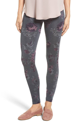 Floral Seamless Leggings